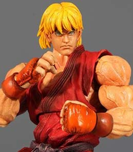 Ken Masters Play Arts Kai Square Enix