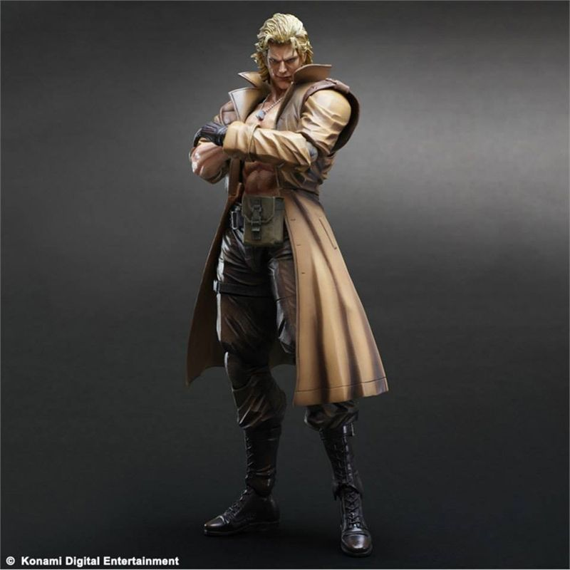 Liquid Snake Play Arts Kai Square Enix
