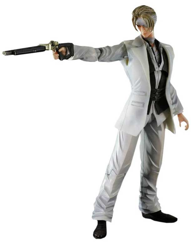 Rufus Shinra Play Arts Kai Square Enix