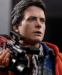Marty Mcfly Back to the Future Hot Toys