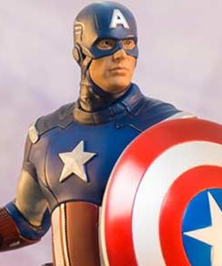 Captain America The Avengers Art Scale Iron Studios