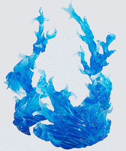 Tamashii Effect Burning Blue Display Bandai