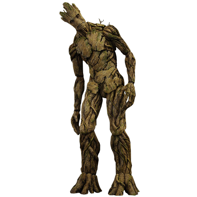 Groot Guardians of the Galaxy Hot Toys