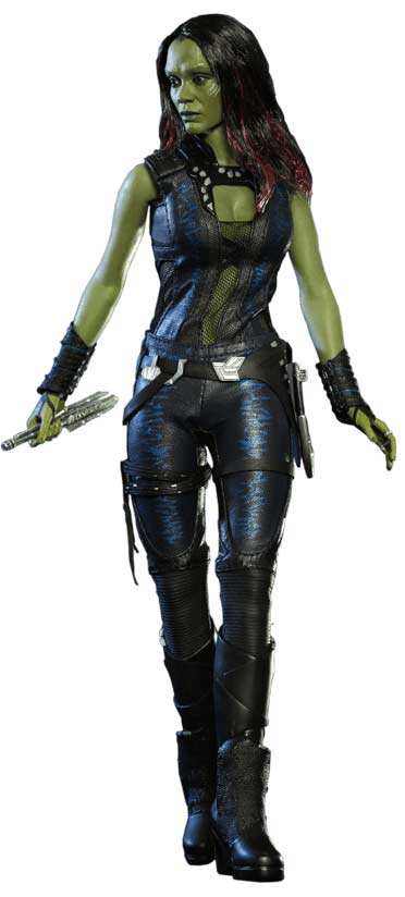Gamora Guardians of the Galaxy Hot Toys