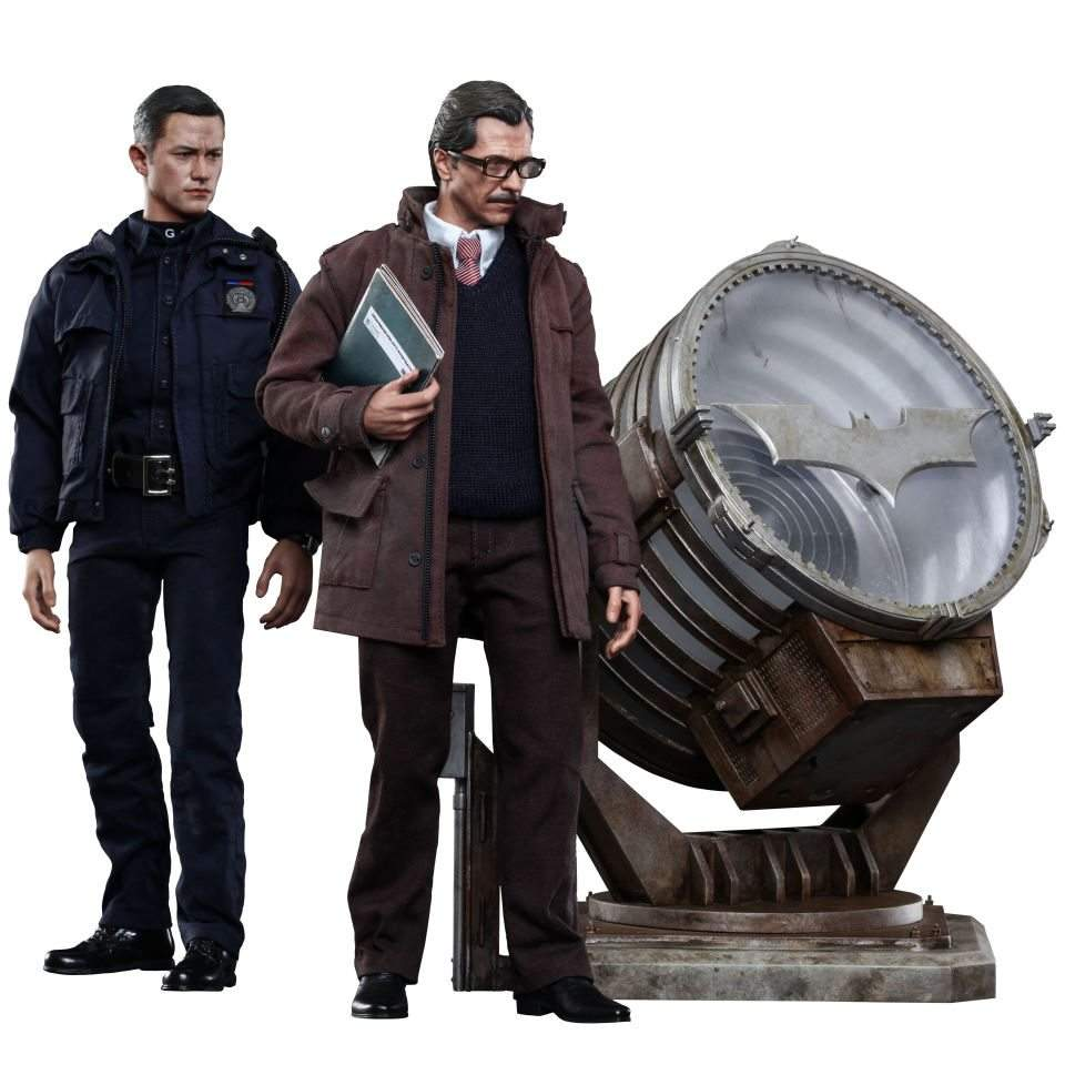 John Blake, Jim Gordon e Bat-Signal Set Hot Toys