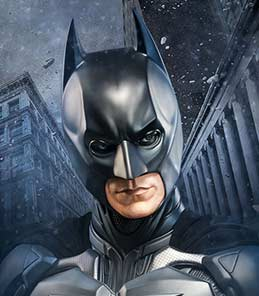 Batman The Dark Knight Life Size Bust Sideshow Collectibles