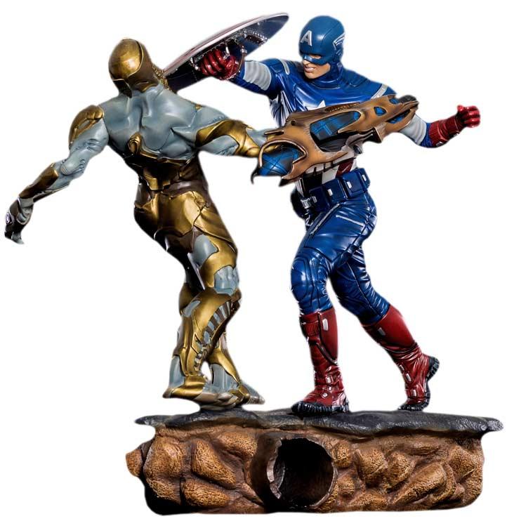 Captain America Iron Studios