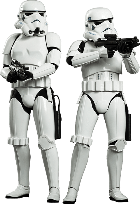 Stormtroopers Set Hot Toys