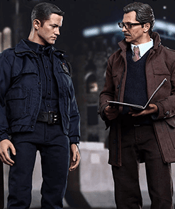 John Blake and Jim Gordon with Bat-Signal Set Hot Toys