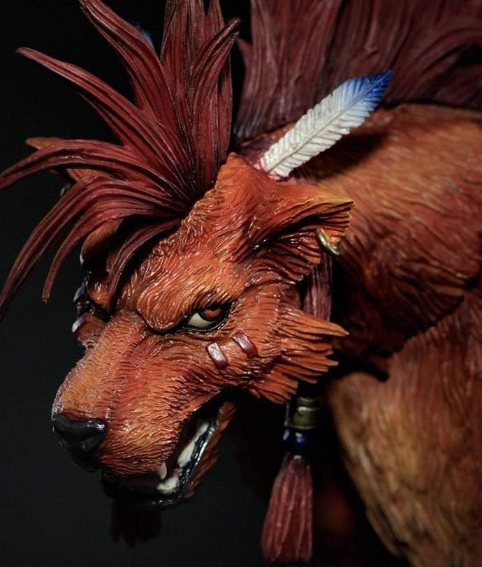 Red XIII Play Arts Kai