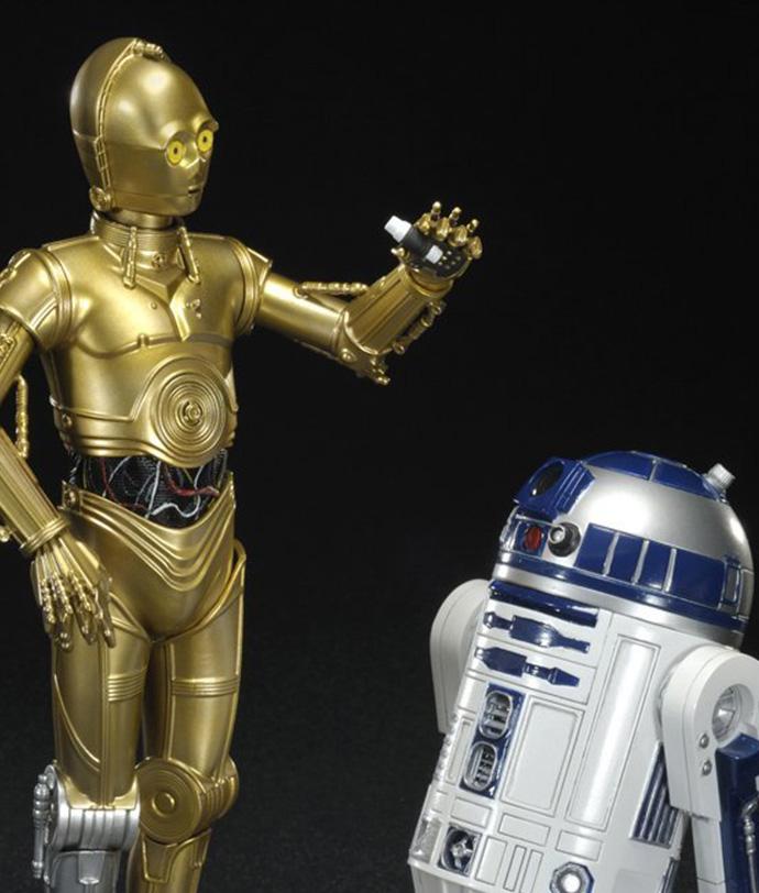 R2-D2 e C-3PO ArtFx Statue Kotobukiya