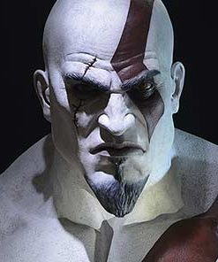 Kratos God of War Life Size Bust Gaming Heads