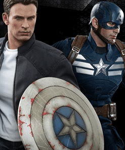 Captain America and Steve Rogers Set Hot Toys
