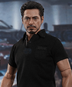 Tony Stark with Arc Reactor Iron Man 2 Hot Toys