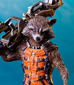 Rocket Guardians of the Galaxy Art Scale Iron Studios