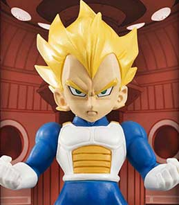 Vegeta Super Saiyan Dragon Ball Z Tamashii Buddies Bandai