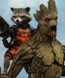 Rocket and Groot Set Guardians of the Galaxy Hot Toys