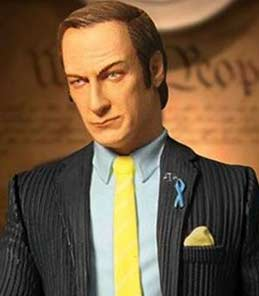 Saul Goodman Breaking Bad Mezco