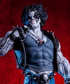 Lobo DC Comics Art Scale Iron Studios
