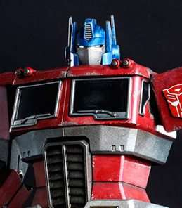 Optimus Prime Starscream Version Hot Toys
