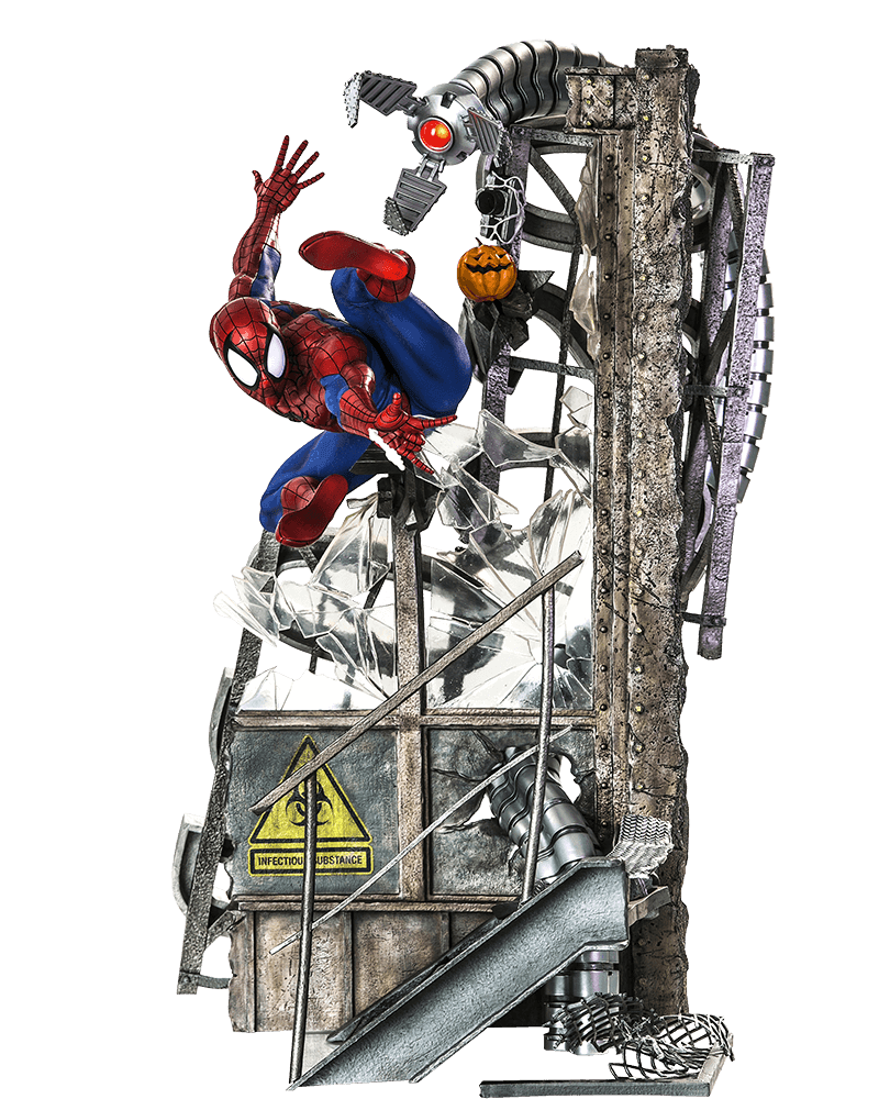 Spider-Man Marvel Comics Legacy Replica 1/4 Iron Studios