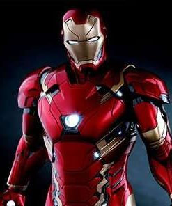 Iron Man Mark XLVI Power Pose Civil War Hot Toys