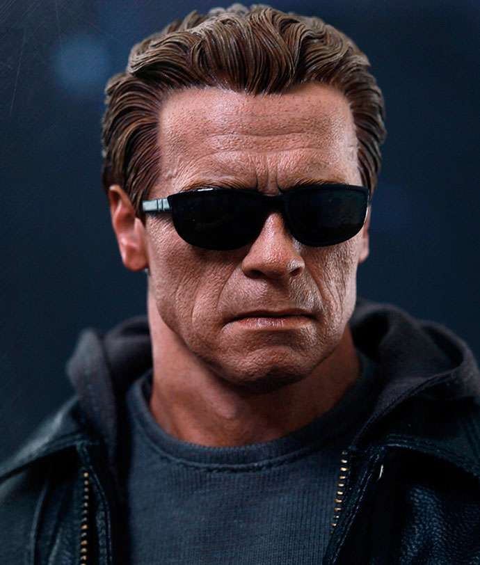 T-800 Guardian Terminator Genisys - Hot Toys