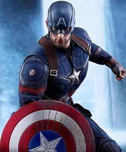 Captain America Civil War Battling Version Hot Toys