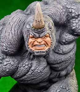 Rhino Marvel Comics Art Scale Iron Studios