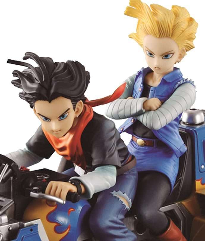 Android 17 and No.18 Desktop Real McCoy - Megahouse
