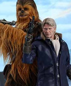 Han Solo and Chewbacca The Force Awakens Hot Toys