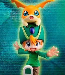 Takeru Takaishi and Patamon G.E.M MegaHouse