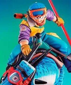 Son Goku with Dinosaur Desktop Real McCoy MegaHouse