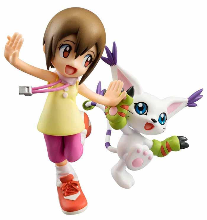 Hikari Yagami and Tailmon G.E.M MegaHouse