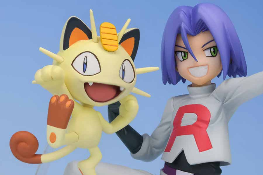 James and Meowth G.E.M MegaHouse