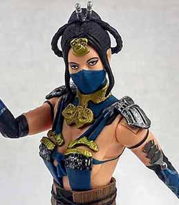 Kitana Mortal Kombat X Mezco