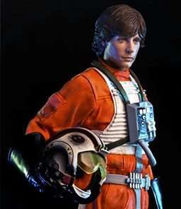 Luke Skywalker X-Wing Pilot Art Scale Iron Studios