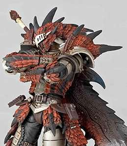 Rathalos Hunter Revoltech Kaiyodo