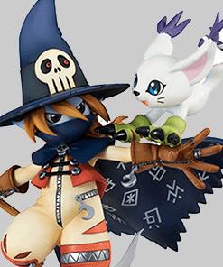 Wizardmon and Tailmon G.E.M MegaHouse