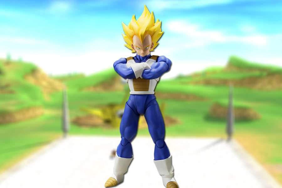 Vegeta Super Saiyan S.H. Figuarts Bandai