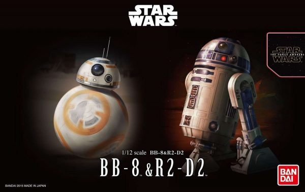 BB-8 and R2-D2 Model Kit