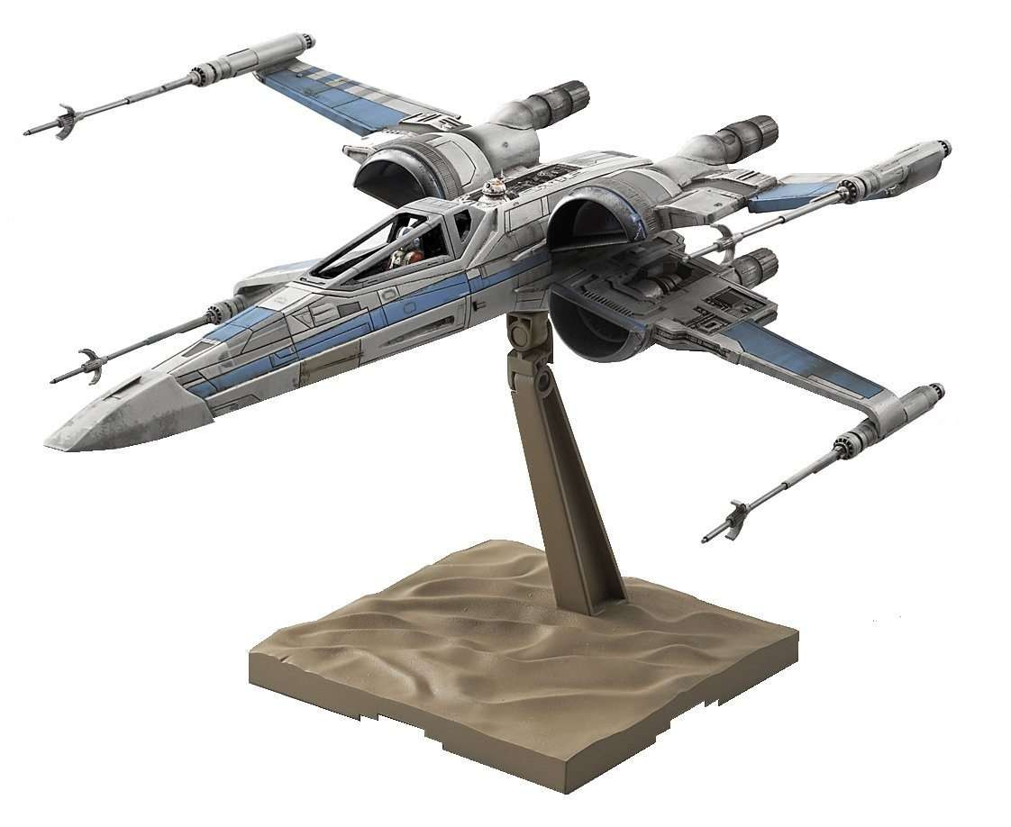 Resistance X-Wing Fighter Model Kit Bandai