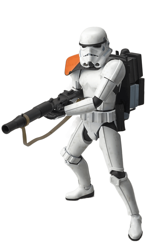 Sandtrooper Model Kit Bandai
