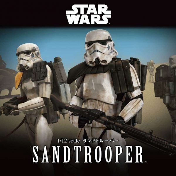 Sandtrooper Model Kit
