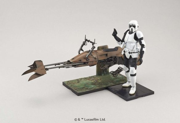 Scout Trooper e Speeder Bike Model Kit