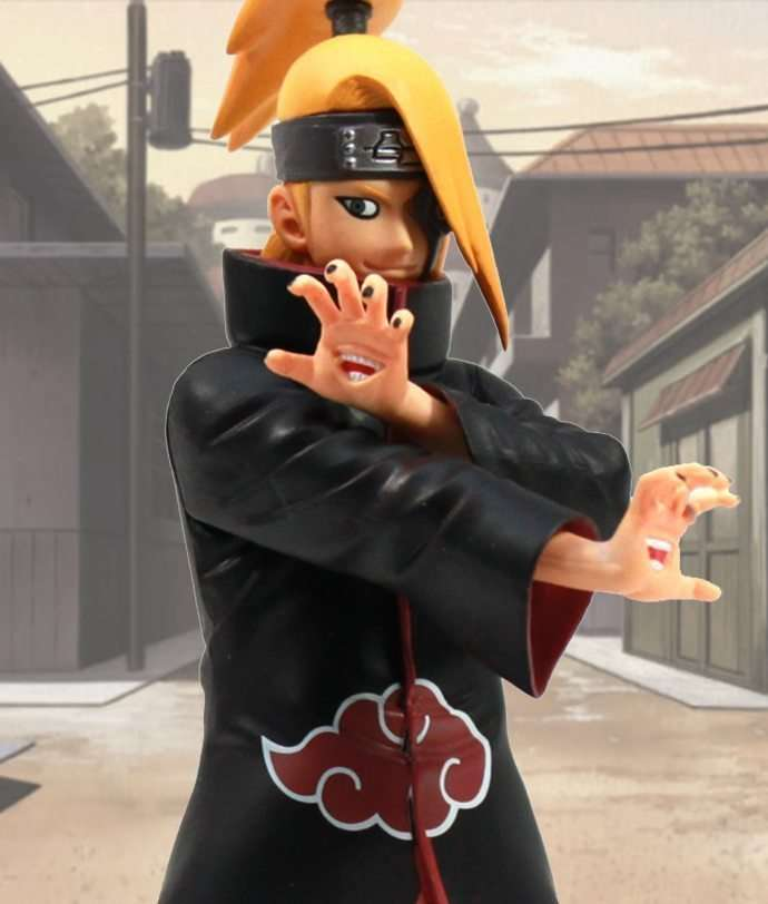 Deidara Shinobi Relations - Banpresto