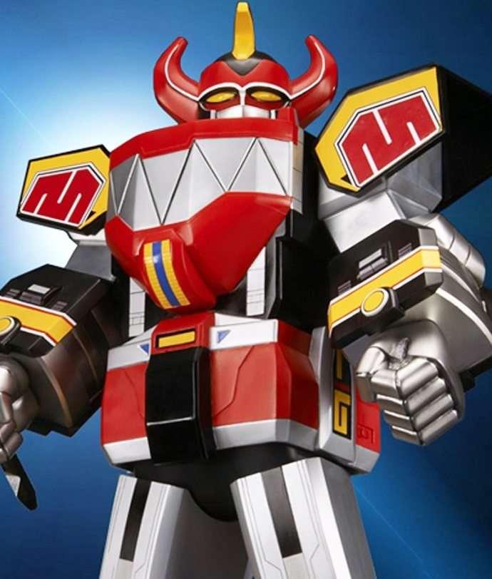 Megazord Gigantic Series - Bandai