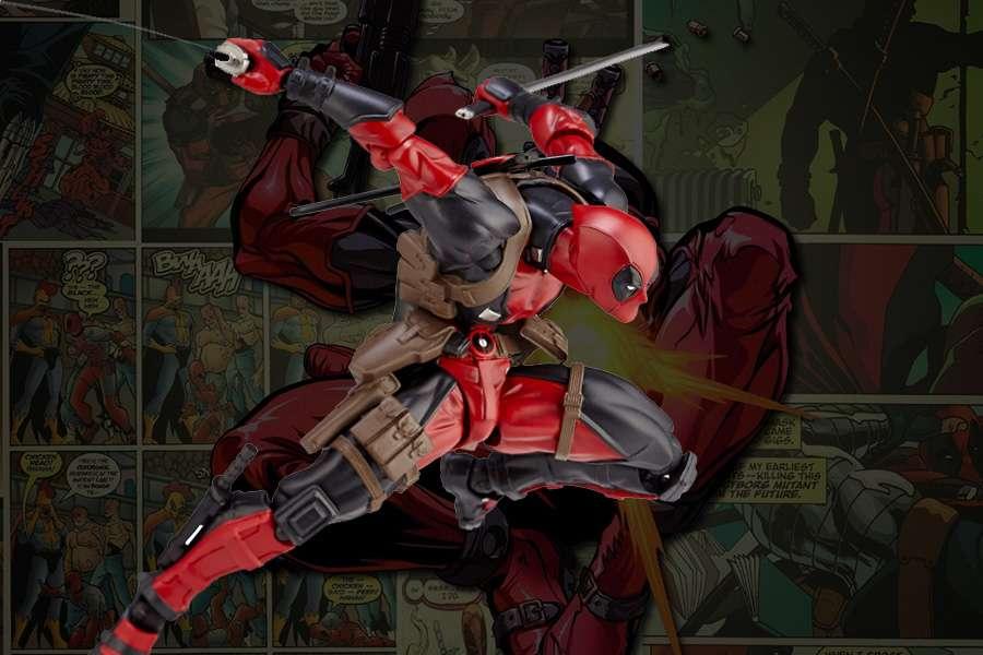 Deadpool Revoltech Kaiyodo