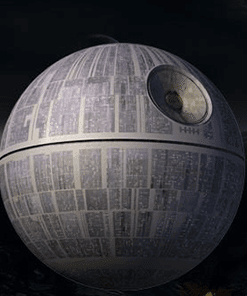Death Star Levitating Portable Floating Sound System