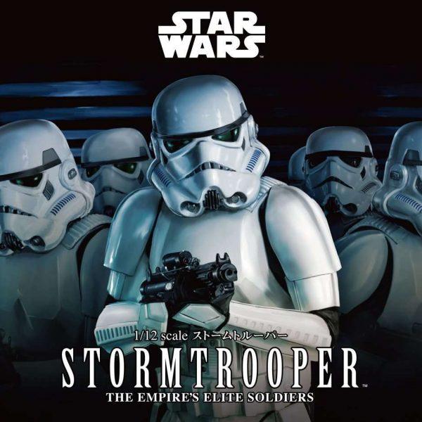 Stormtrooper Model Kit Bandai